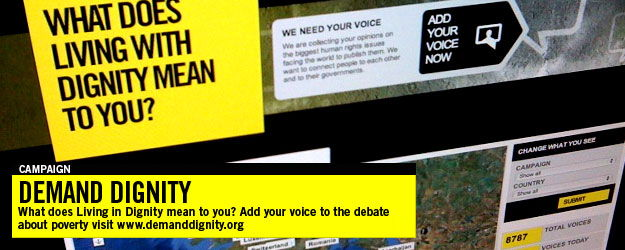 Demand Dignity Campaign